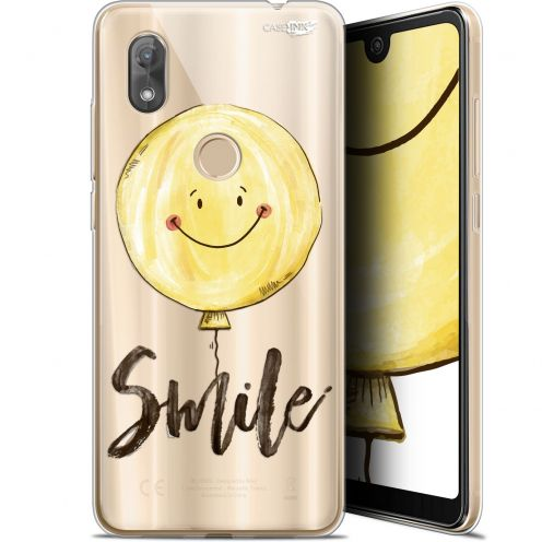 "Coque Gel Wiko View 2 (6"") Extra Fine Motif -  Smile Baloon"