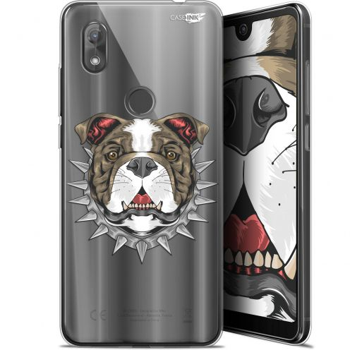 "Coque Gel Wiko View 2 (6"") Extra Fine Motif -  Doggy"