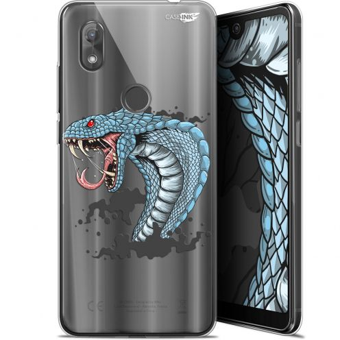 "Coque Gel Wiko View 2 (6"") Extra Fine Motif - Cobra Draw"