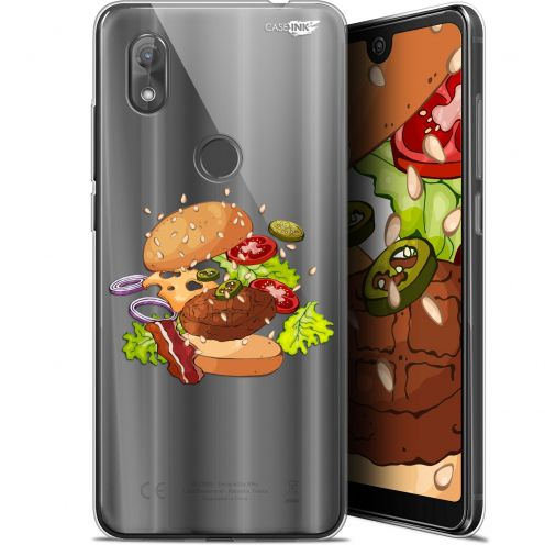 "Coque Gel Wiko View 2 (6"") Extra Fine Motif - Splash Burger"