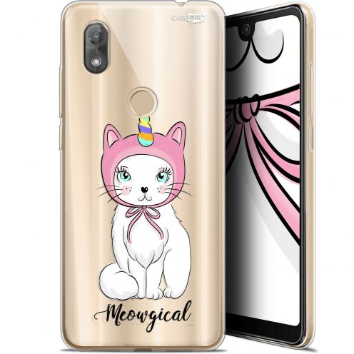 "Coque Gel Wiko View 2 (6"") Extra Fine Motif -  Ce Chat Est MEOUgical"