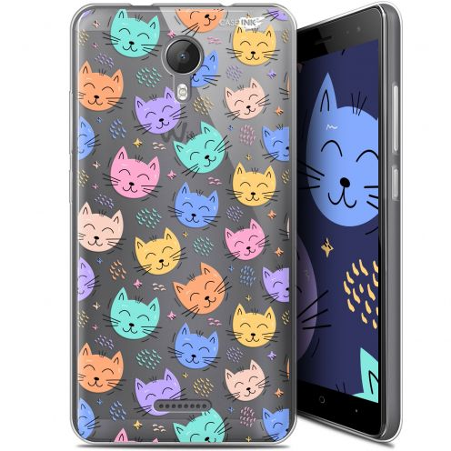 "Coque Gel Wiko Jerry 2 (5.0"") Extra Fine Motif - Chat Dormant"