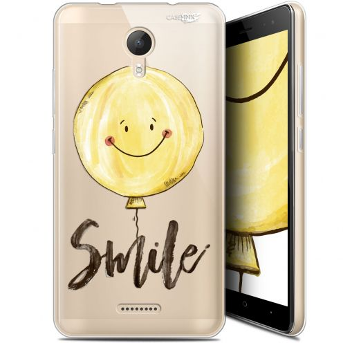"""Coque Gel Wiko Jerry 2 (5.0"""") Extra Fine Motif -  Smile Baloon"""
