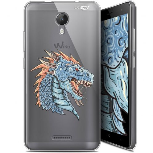 "Coque Gel Wiko Jerry 2 (5.0"") Extra Fine Motif - Dragon Draw"