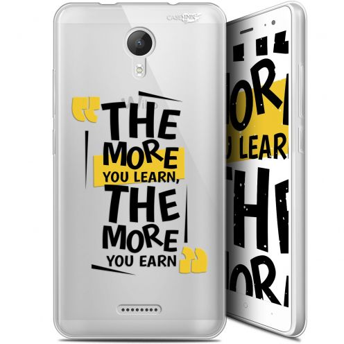 "Coque Gel Wiko Jerry 2 (5.0"") Extra Fine Motif - The More You Learn"
