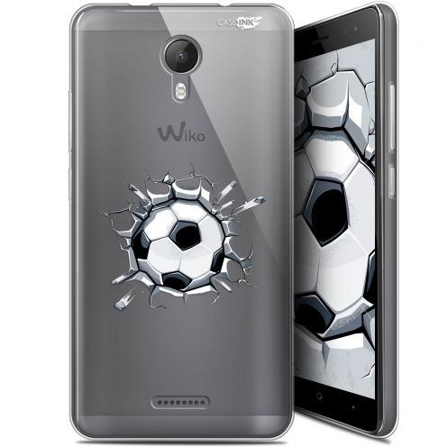 "Coque Gel Wiko Jerry 2 (5.0"") Extra Fine Motif - Le Balon de Foot"