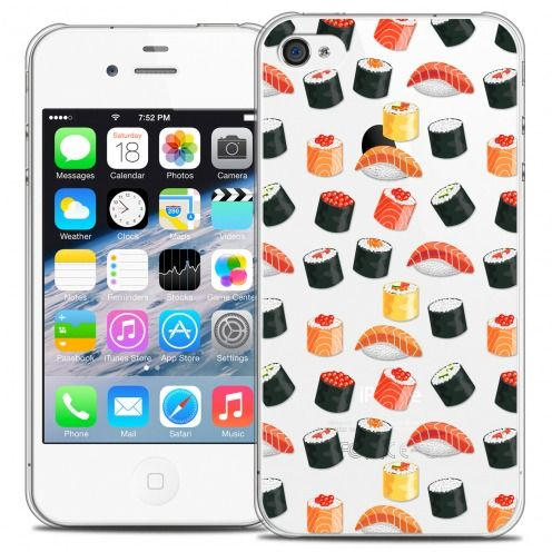 Coque Crystal iPhone 4/4s Extra Fine Foodie - Sushi