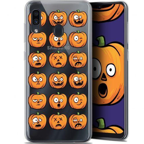 "Coque Gel Samsung Galaxy A30 (6.4"") Extra Fine Halloween - Cartoon Citrouille"