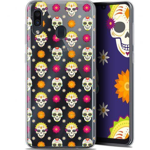 "Coque Gel Samsung Galaxy A30 (6.4"") Extra Fine Halloween - Skull Halloween"