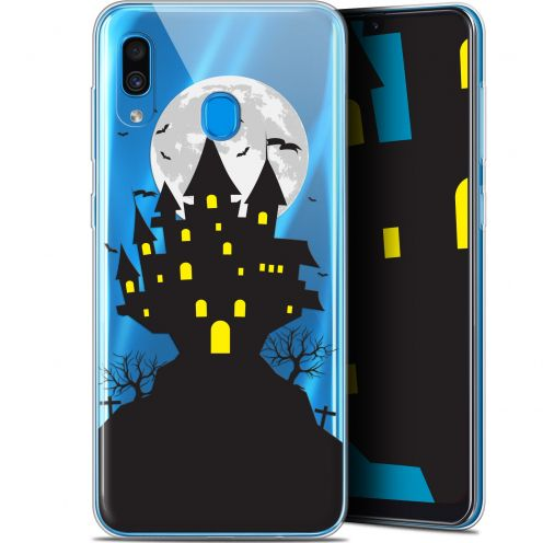 "Coque Gel Samsung Galaxy A30 (6.4"") Extra Fine Halloween - Castle Scream"