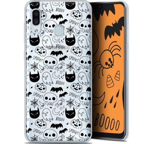 "Coque Gel Samsung Galaxy A30 (6.4"") Extra Fine Halloween - Spooky"
