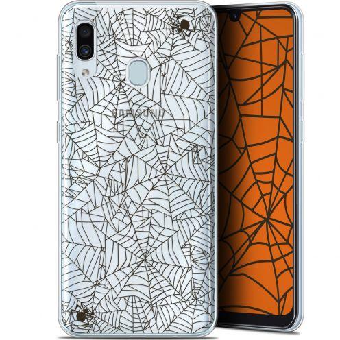 "Coque Gel Samsung Galaxy A30 (6.4"") Extra Fine Halloween - Spooky Spider"