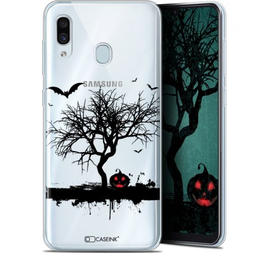 "Coque Gel Samsung Galaxy A30 (6.4"") Extra Fine Halloween - Devil's Tree"