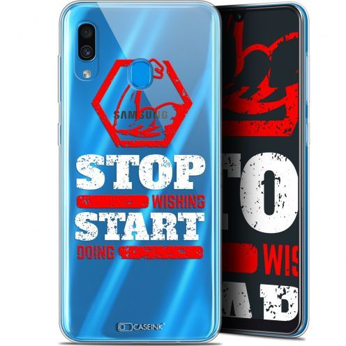 """Coque Gel Samsung Galaxy A30 (6.4"""") Extra Fine Quote - Start Doing"""
