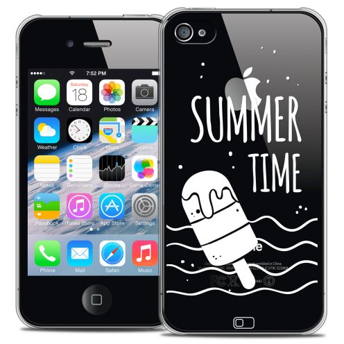Coque Crystal iPhone 4/4s Extra Fine Summer - Summer Time