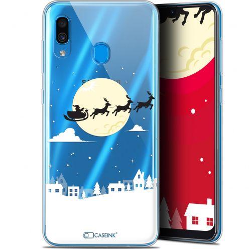 """Coque Gel Samsung Galaxy A30 (6.4"""") Extra Fine Noël 2017 - Flying Stanta"""