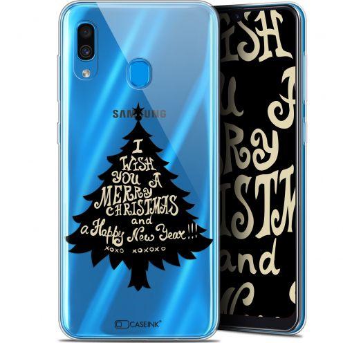 "Coque Gel Samsung Galaxy A30 (6.4"") Extra Fine Noël 2017 - XOXO Tree"