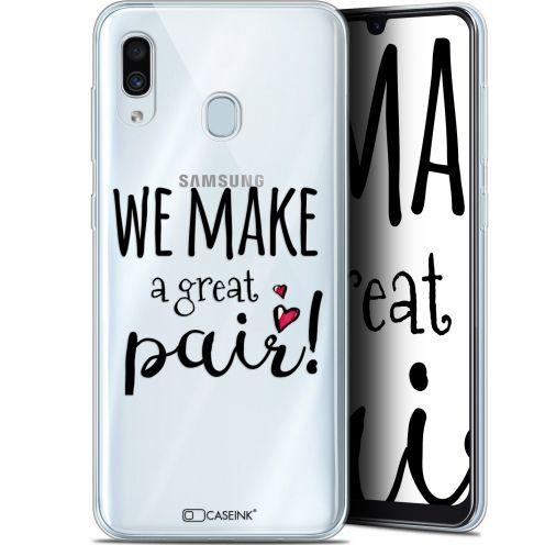 "Coque Gel Samsung Galaxy A30 (6.4"") Extra Fine Love - We Make Great Pair"