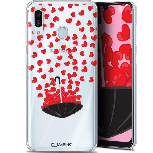 "Coque Gel Samsung Galaxy A30 (6.4"") Extra Fine Love - Parapluie d'Amour"