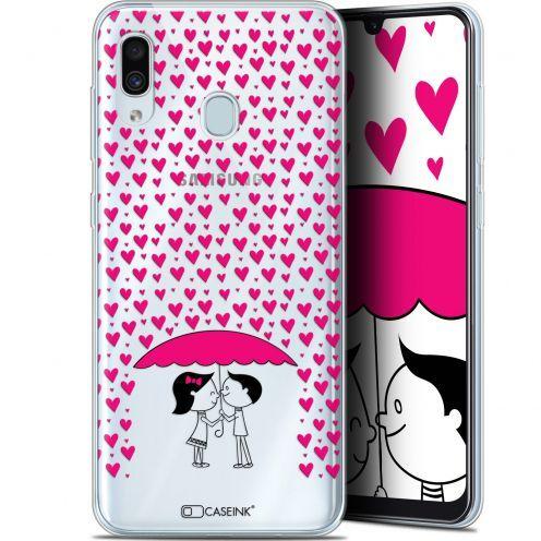 "Coque Gel Samsung Galaxy A30 (6.4"") Extra Fine Love - Pluie d'Amour"