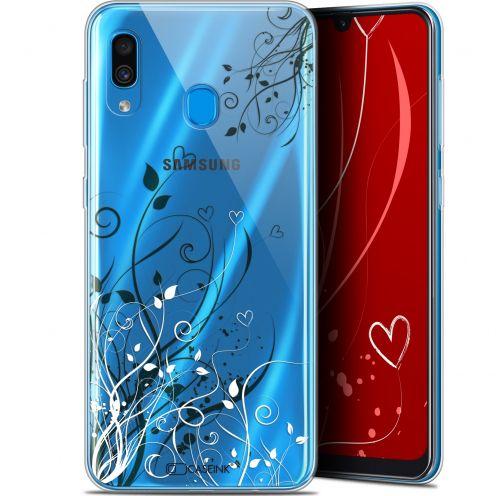 "Coque Gel Samsung Galaxy A30 (6.4"") Extra Fine Love - Hearts Flowers"