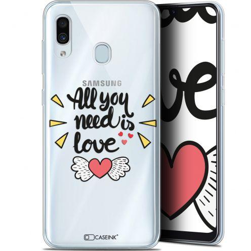 """Coque Gel Samsung Galaxy A30 (6.4"""") Extra Fine Love - All U Need Is"""
