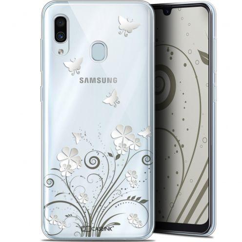 "Coque Gel Samsung Galaxy A30 (6.4"") Extra Fine Summer - Papillons"