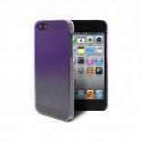 Vue complémentaire de Coque gouttes de pluie Raindrops iPhone 5 Violette