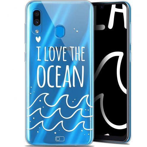 "Coque Gel Samsung Galaxy A30 (6.4"") Extra Fine Summer - I Love Ocean"