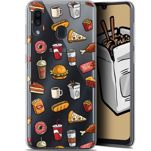 """Coque Gel Samsung Galaxy A30 (6.4"""") Extra Fine Foodie - Fast Food"""