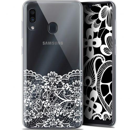 "Coque Gel Samsung Galaxy A30 (6.4"") Extra Fine Spring - Bas dentelle"