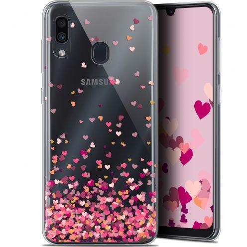 "Extra Slim Gel Samsung Galaxy A30 (6.4"") Case Sweetie Heart Flakes"