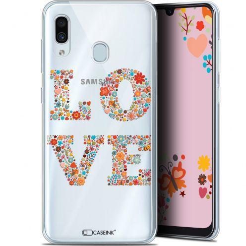 "Coque Gel Samsung Galaxy A30 (6.4"") Extra Fine Summer - Love Flowers"
