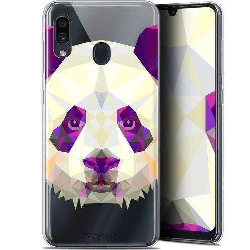 "Coque Gel Samsung Galaxy A30 (6.4"") Extra Fine Polygon Animals - Panda"