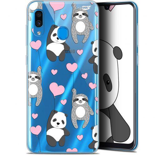 "Coque Gel Samsung Galaxy A30 (6.4"") Extra Fine Motif -  Panda'mour"