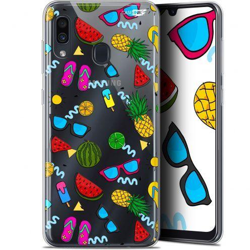 "Coque Gel Samsung Galaxy A30 (6.4"") Extra Fine Motif - Summers"