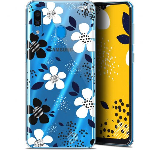 "Coque Gel Samsung Galaxy A30 (6.4"") Extra Fine Motif - Marimeko Style"