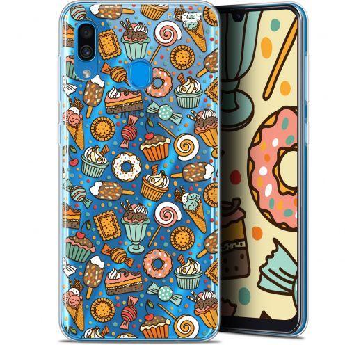 """Coque Gel Samsung Galaxy A30 (6.4"""") Extra Fine Motif - Bonbons"""