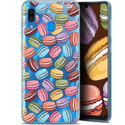 "Coque Gel Samsung Galaxy A30 (6.4"") Extra Fine Motif - Macarons"