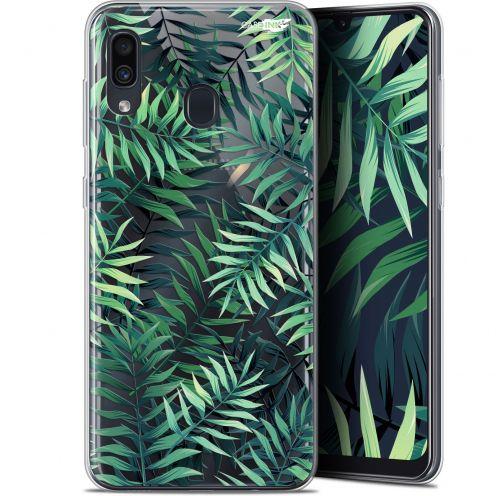 """Coque Gel Samsung Galaxy A30 (6.4"""") Extra Fine Motif -  Feuilles des Tropiques"""