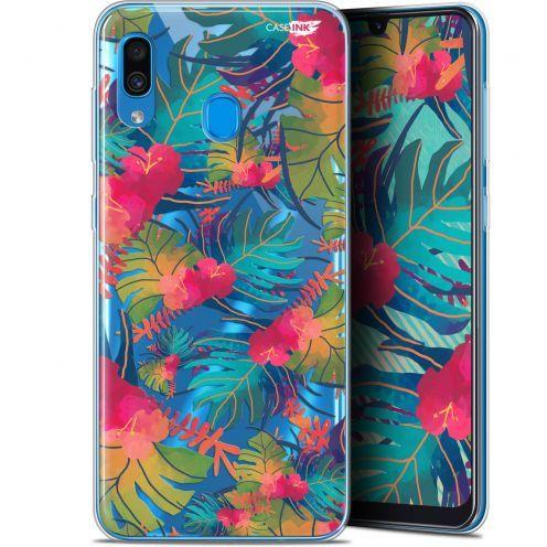"Coque Gel Samsung Galaxy A30 (6.4"") Extra Fine Motif - Couleurs des Tropiques"