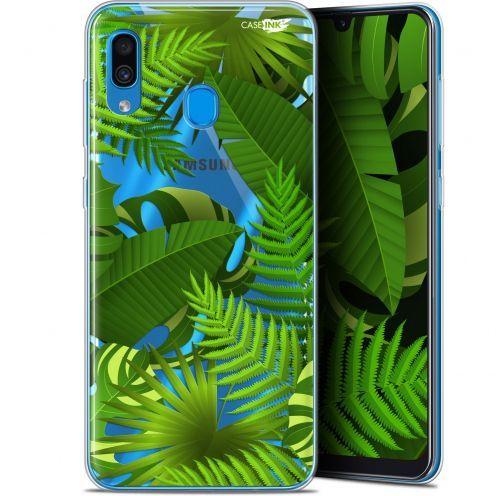 """Coque Gel Samsung Galaxy A30 (6.4"""") Extra Fine Motif -  Plantes des Tropiques"""