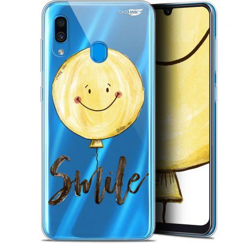 "Coque Gel Samsung Galaxy A30 (6.4"") Extra Fine Motif -  Smile Baloon"