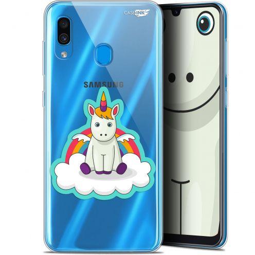 """Coque Gel Samsung Galaxy A30 (6.4"""") Extra Fine Motif - Bébé Licorne"""