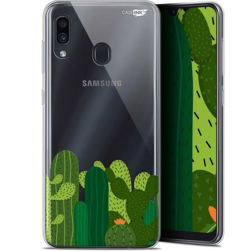 """Coque Gel Samsung Galaxy A30 (6.4"""") Extra Fine Motif - Cactus"""