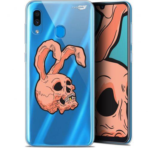 "Coque Gel Samsung Galaxy A30 (6.4"") Extra Fine Motif -  Rabbit Skull"