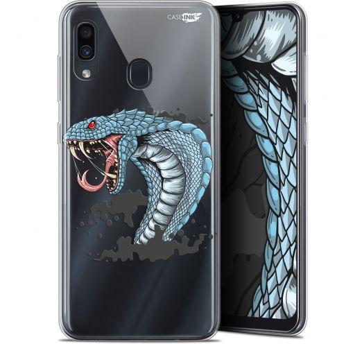 """Coque Gel Samsung Galaxy A30 (6.4"""") Extra Fine Motif - Cobra Draw"""