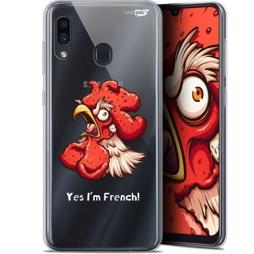 """Coque Gel Samsung Galaxy A30 (6.4"""") Extra Fine Motif -  I'm French Coq"""