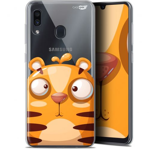 "Coque Gel Samsung Galaxy A30 (6.4"") Extra Fine Motif -  Cartoon Tiger"