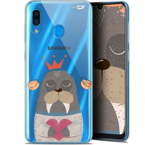 """Coque Gel Samsung Galaxy A30 (6.4"""") Extra Fine Motif - Sketchy Walrus"""